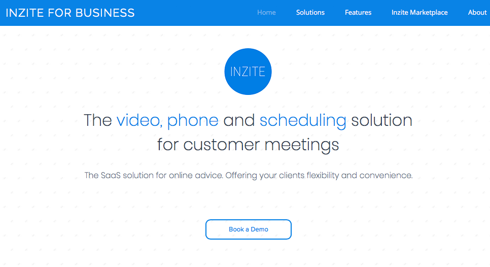 Introducing Inzite for Business - SaaS solutions